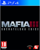Mafia 3 CZ (Collectors Edition) + bonus DLC (PS4)