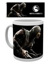Mortal Kombat X hrnček Scorpion