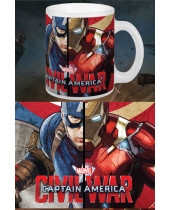 Captain America Civil War hrnček Choose Your Side