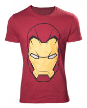 Iron Man - Head (T-Shirt)