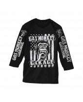 Gas Monkey Garage Americana tričko dlhý rukáv