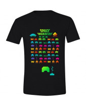 Space Invaders - Multi Coloured (T-Shirt)