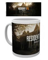 Resident Evil 7 hrnček Key Art