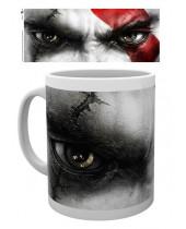 God of War hrnček Kratos Eyes