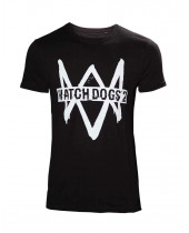 Watch Dogs 2 Logo + Text (T-Shirt)