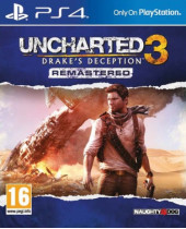 Uncharted 3 - Drakes Deception Remastered (PS4)