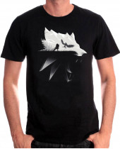Witcher - Wolf Silhouette (T-Shirt)