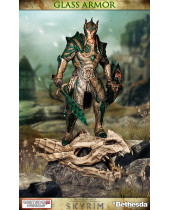 The Elder Scrolls V Skyrim Statue 1/6 Glass Armor 40 cm