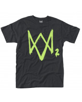Watch Dogs 2 Neon Logo (T-Shirt)