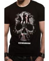 Walking Dead - Trio Skull Silhouette (T-Shirt)