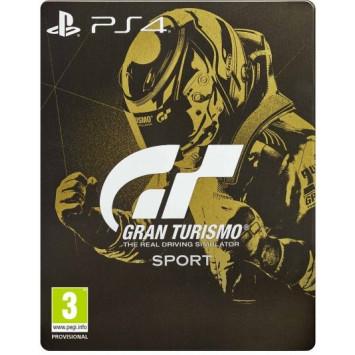Gran Turismo Sport (Steelbook Edition) (PS4)