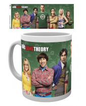 Big Bang Theory hrnček Cast