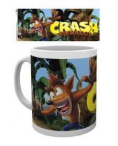 Crash Bandicoot hrnček Logo