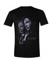 X-Files - Mulder and Scully Greyscale (T-Shirt)