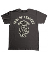 Sons of Anarchy - Arched with Reaper (T-Shirt)