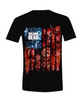 Walking Dead - Walkers Flag Montage (T-Shirt)