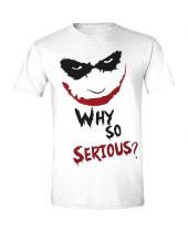 Batman - Why So Serious White (T-Shirt)