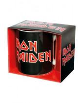 Iron Maiden hrnček Logo
