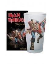 Iron Maiden pivný pohár Trooper