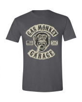 Gas Monkey Garage GMG Patch Charcoal (T-Shirt)