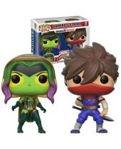Pop! Games - Marvel vs. Capcom Infinite - 2-Pack Gamora vs. Strider