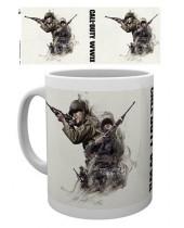 Call of Duty WWII hrnček Smoke