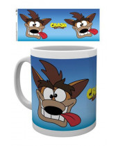 Crash Bandicoot hrnček Cartoon Crash