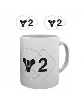 Destiny 2 hrnček Logo