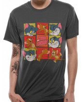 Tom and Jerry Squares (T-Shirt)
