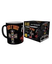 Guns N Roses Heat Change Mug Cross