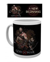 God of War hrnček New Beginning
