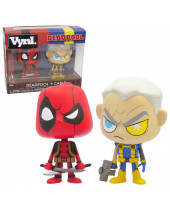 Deadpool and Cable VYNL - Vinyl Deadpool Figures 2 pack 10 cm