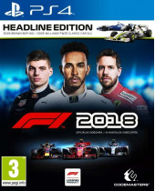 Formula 1 2018 (Headline Edition) (PS4)