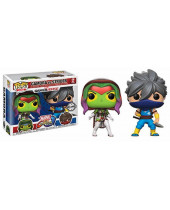 Pop! Games - Marvel vs. Capcom Infinite - 2-Pack Gamora vs. Strider Exclusive
