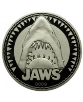 Jaws Collectable Coin Logo / You Are Gonna Need A Bigger Boat (silver plated)