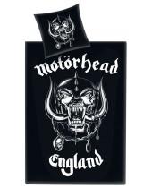 Motorhead - posteľné obliečky Logo England 135 x 200 cm / 80 x 80 cm