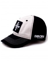 Far Cry 5 - Black and White Emblem Curved Bill Cap