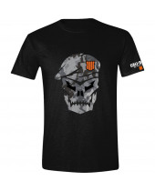 Call of Duty - Black Ops 4 Skull With Camo (T-Shirt)