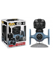 Pop! Star Wars - Tie Fighter with Tie Pilot Super Sized 15 cm (Bobble Head)