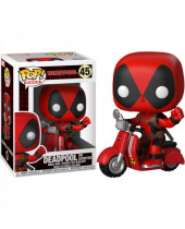 Pop! Rides - Deadpool - Deadpool and Scooter