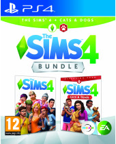 Sims 4 + Sims 4 Cats and Dogs (PS4)