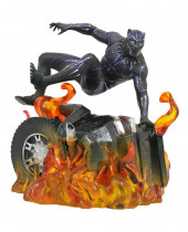 Black Panther Marvel Movie Gallery PVC socha Black Panther Ver. 2 23 cm