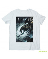 Alien Dark Cave (T-Shirt)