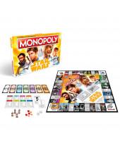 Star Wars Solo stolová hra Monopoly (German Version)