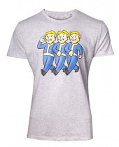 Fallout 76 - Three Vault Boys (T-Shirt)