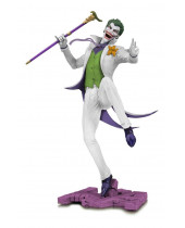 DC Core PVC Statue The Joker White Variant Exclusive 28 cm