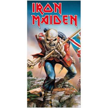 Iron Maiden osuška Trooper 150 x 75 cm