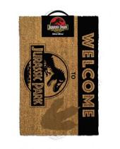 Jurassic Park rohožka - Welcome To Jurassic Park 40 x 60 cm