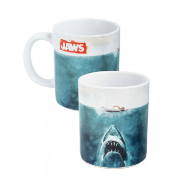 Jaws hrnček Logo
