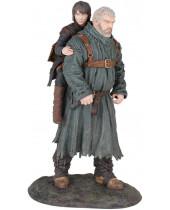Game of Thrones PVC socha Hodor and Bran 23 cm